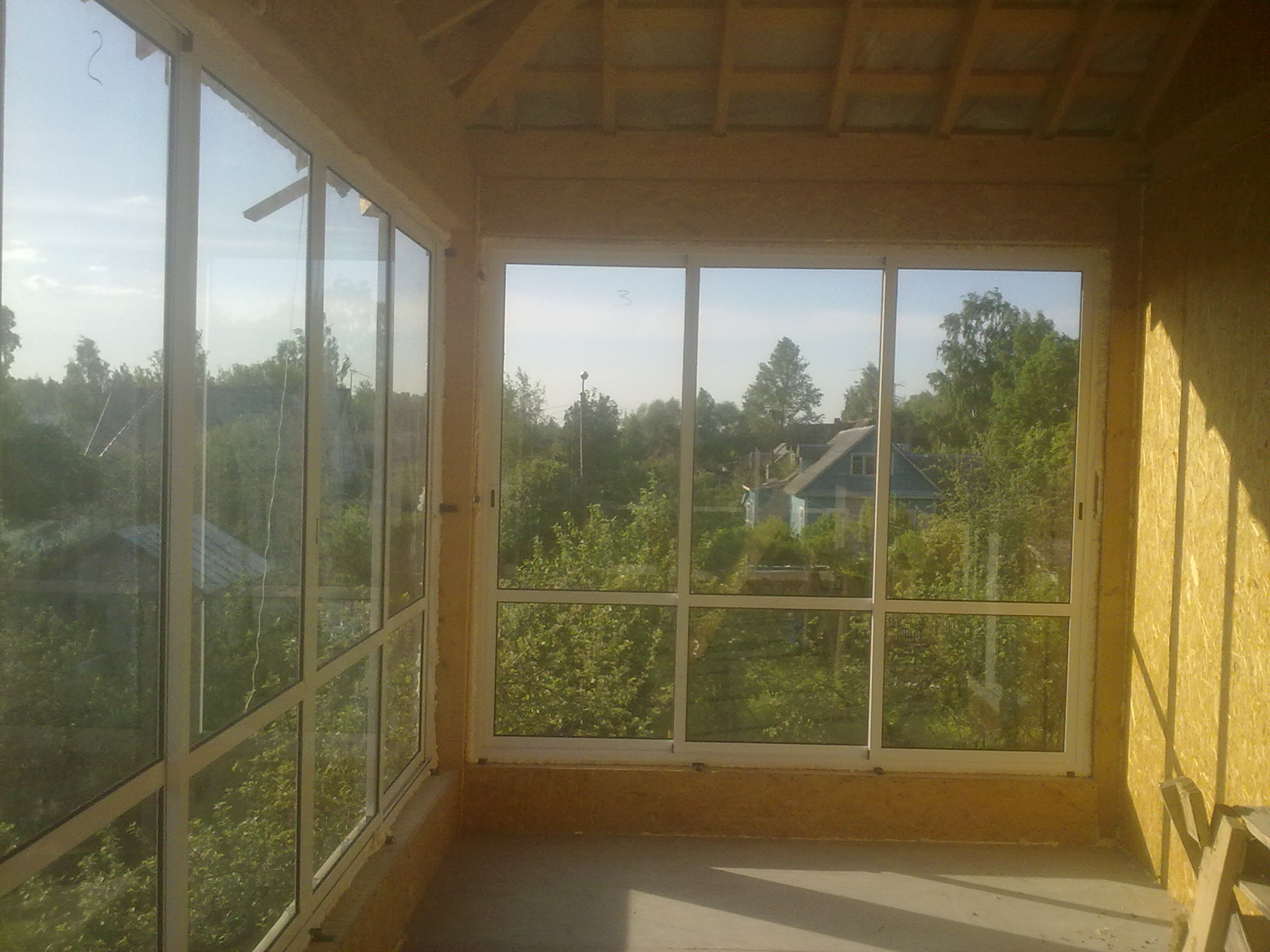 Дачные окна фото